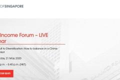 Bank Of Singapore Live Webinar