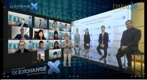 Live Webinar Services in Singapore enhances with the use of 3D Virtual Studio Production Set.